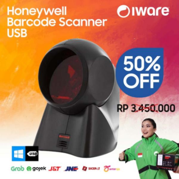 HONEYWELL Barcode Scanner Omni MK7120 MS7120 MK 7120 1D Orbit USB